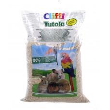 """Cliffi Кукурузный наполнитель """"Цитрус"""" для грызунов: 100% органик, Tutolo, 4.5 кг"""