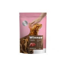 Корм Winner для взрослых кошек всех пород, говядина