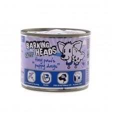 """Barking Heads консервы для щенков мелких пород с лососем """"Щенячьи деньки"""", 200 гр"""