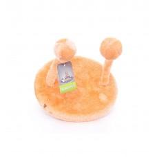"""Игрушка Papillon Cat toy для кошек """"НЛО"""", оранжевая, плюш, 20х25 см"""