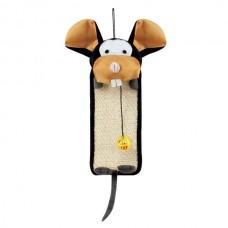 Коврик-когтеточка СТ14 Веселая мышь 60*24см