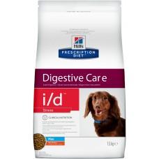 Корм Hills Prescription Diet i/d Stress Mini Digestive Care для собак мелких пород при расстройствах ЖКТ, вызванных стрессом, диетический, курица