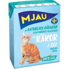 Корм MJAU для кошек, креветки, в соусе, tetra, 380 г