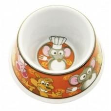 """Миска """"Мышиный обед"""" для грызунов, 60мл, 9x9x4,5см, пластик"""