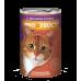 Корм Прохвост для кошек, кролик, в соусе, банка, 415 г