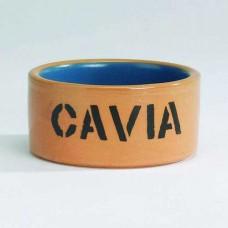 Миска керам для морской свинки бежево-голубая 11,5см 801480