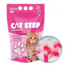 Cat Step САКУРА силикагель 3,8л (1,81кг) наполн
