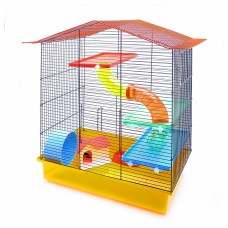 """Клетка Benelux Cage for hamsters mia funny для хомяков """"Миа"""" 58x40,5x68 см."""