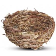Гнездо для птиц с ветками 120*60мм