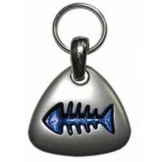 Адресник-рыбка Hello PET для гравировки ID-4005