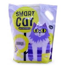Наполнитель Smart Cat cиликагелевый, с ароматом лаванды, 3.32 кг, 7.6 л