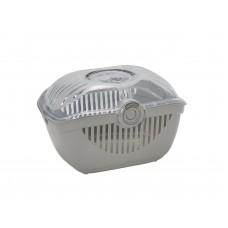 Переноска-корзинка Moderna Toprunner large, большая, теплый серый, 48х36х32 см