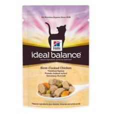 Корм Hills Ideal Balance для взрослых кошек, курица, пауч, 85 г