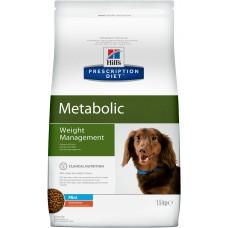 Корм Hills Prescription Diet Metabolic Mini для собак мелких пород, способствует снижению и контролю веса, диетический, курица