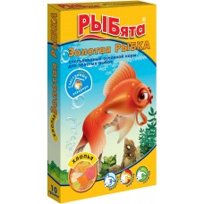Рыбята ЗОЛОТАЯ РЫБКА хлопья