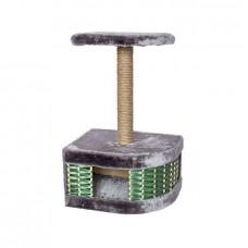 Домик-когтеточка ЕСО Плетенка углов.45,5*35,5*72,5
