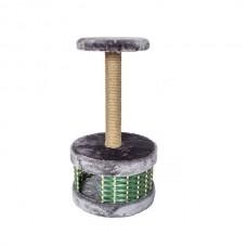 Домик-когтеточка ЕСО Плетенка кругл.38,5*38,5*72,5