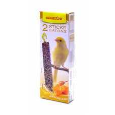 Лакомые палочки с медом для канареек, Seedsticks canary + Honey x 2 pcs, 110 гр