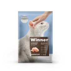 Корм Winner для пожилых кошек, курица, 10 кг