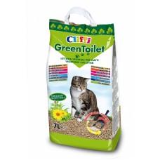 Cliffi Комкующийся растительный наполнитель, 7 л, 2.1 кг, GREENTOILET