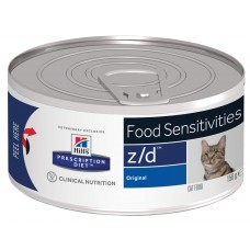 Hill's Prescription Diet z/d Feline ULTRA Allergen-Free пищевая аллергия, 156 гр