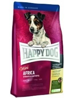 """Корм Happy dog """"Пьемонт"""" для собак малых пород с уткой, морской рыбой и  каштаном"""