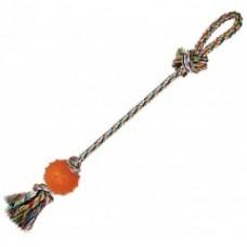 """Игрушка """"Веревка № 6"""" для собак, 60см, 170-180г, хлопок, резина"""