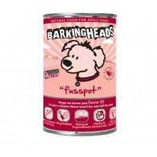 """Barking Heads консервы для собак с лососем """"Суета вокруг миски"""", Fusspot, 400 гр"""