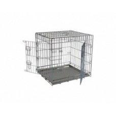 Клетка металлическая с 2 дверками, 76x54x61 см, облегченная, Wire cage 2 doors