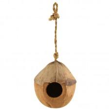 Домик для птиц из кокоса 100-130мм