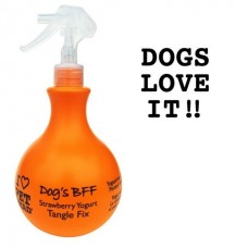 Клубнично-йогуртовый спрей-уход Pet Head Dog's Bff от колтунов и для блеска шерсти собак, без сульфатов и парабенов, 450 мл