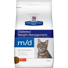 Hill's Prescription Diet Feline m/d сахарный диабет