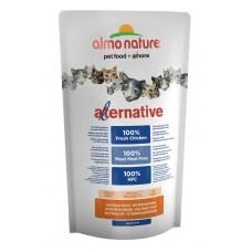 Корм Almo Nature Alternative Chicken and Rice для кошек со свежим цыпленком (55% мяса)