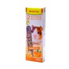 Лакомые палочки Benelux Seedsticks guinea pig Oorange X 2 pcs, для морских свинок, апельсин, 2 шт., 130 г