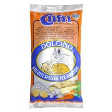 Cliffi Лакомство для грызунов: Бисквит с морковью, 30 гр