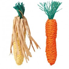 Морковь и кукуруза 15см Трикси набор 2шт