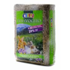 Cliffi Сено, богатое клетчаткой, для кроликов и мелких домашних грызунов, ERBAVOGLIO, 1 кг