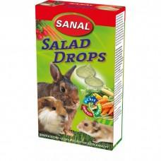 SANAL д/кроликов 45г Salad Drops c овощами