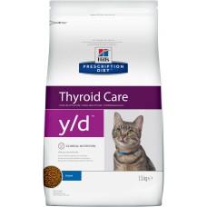 Hill's Prescription Diet Feline y/d лечение гипертиреоза