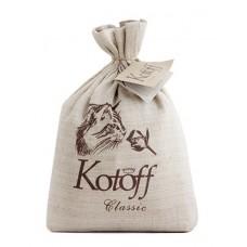 """Kotoff Premium ECO-концепция Комкующийся наполнитель """"Классический"""" (холщовый мешок)"""