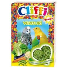 Cliffi Яичный корм с овощами для всех зерноядных птиц, Verduri