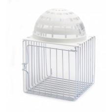 Домик-гнездо Benelux Bird nesthouse metal/plastic nest 10*11*16 см.