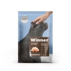 Корм Winner для кошек домашнего содержания, курица