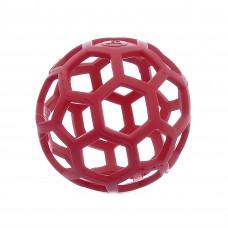 Ажурный резиновый мяч большой, 14 см