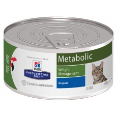 Hill's Prescription Diet Metabolic Feline, 156 гр