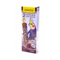 Лакомые палочки Benelux Seedsticks parakeet Coconut x 2 pcs для длиннохвостых попугаев, кокос, 110 г