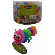 """Игрушка Papillon Caterpillar для кошек """"Гусеница"""", латекс, 6.5 см"""