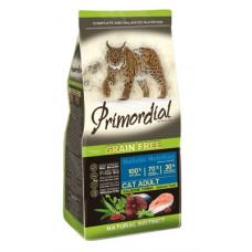 Корм PRIMORDIAL для кошек, беззерновой, лосось/тунец