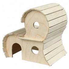 Домик Yami-Yami для грызунов деревянный, 2-х этажный