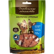 Деревенские лакомства для малых пород, косточки утиные, 55 г